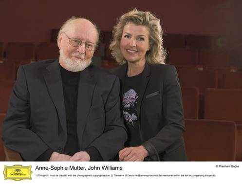 John Williams und Anne-Sophie Mutter