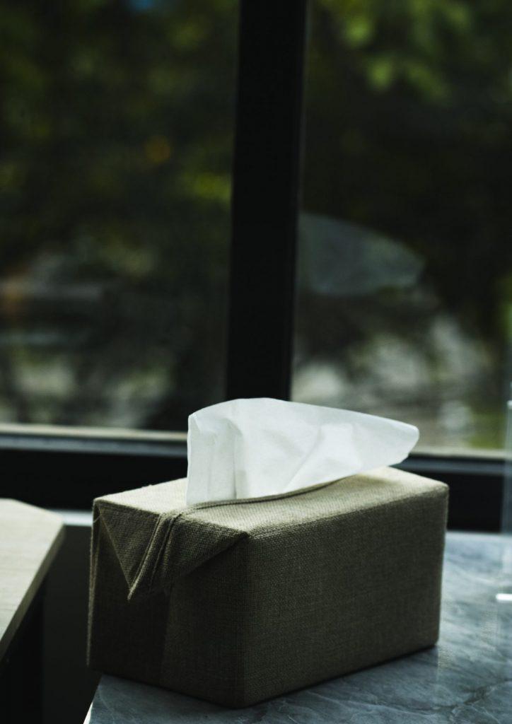 Für diejenigen die unter Heuschnupfen leiden ein ständiger Begleiter - Taschentücher. Bildquelle: © Raphiell Alfaridzy / Unsplash.com
