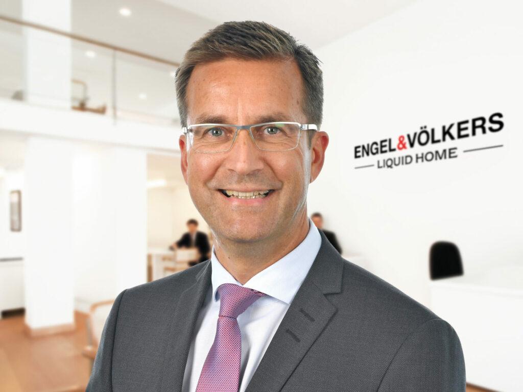 Christian Kuppig ist Geschäftsführer von Engel & Völkers LiquidHome. Bildquelle: © Engel & Völkers LiquidHome